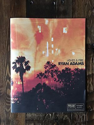 Ryan Adams Ashes and Fire PROMO SONGBOOK LYRICS
