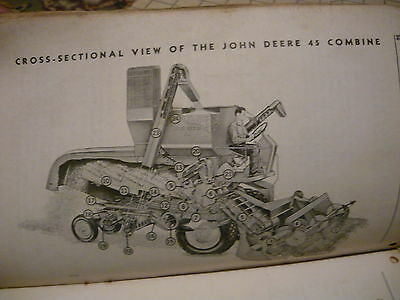 John Deere 45 Combine Operator's Manual rough