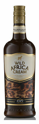 South African Alcohol/ Liqueur - Wild Africa Cream (750ml)