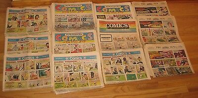 Vintage Newspaper COMICS - Lot of 230 Inserts from the 70's - Some Great Oldies!
