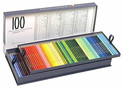 Holbein Artist Coloured Pencil 100 Colours Set in Paper Box w/ Free EMS Shipping
