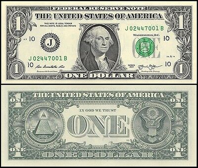 United States of America (USA) $1 Dollar, 2013, P-NEW, UNC