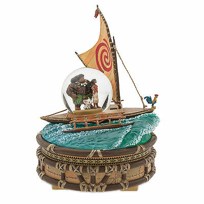 Disney Store Moana Musical We Know the Way Snowglobe