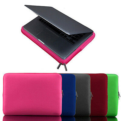 """Laptop Sleeve Case Pouch Bag Cover for 11 13 15 """" MacBook /Air Notebook Deluxe"""