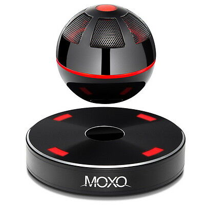 Portable MOXO Bluetooth Magnetic Levitating Maglev 3D Stereo Speakers New