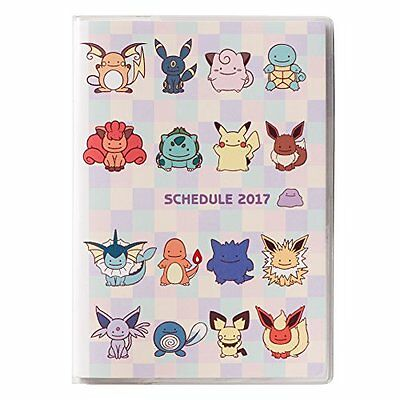 Pokemon Center Original schedule book 2017 Transform! Metamon