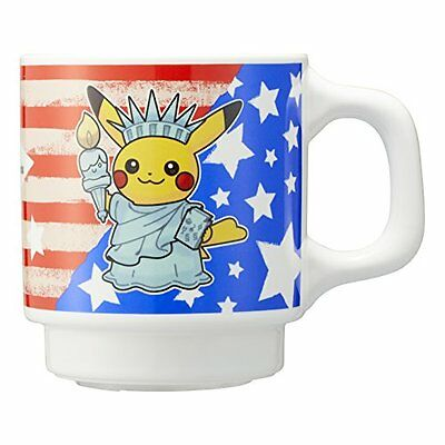 Pokemon Center Original mug American Pikachu