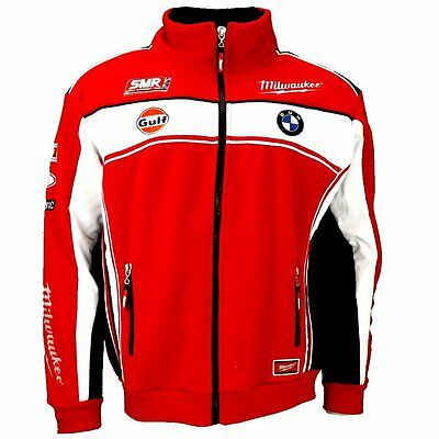 Official 2016 Milwaukee BMW World Superbikes Fleece Jacket Extra Large