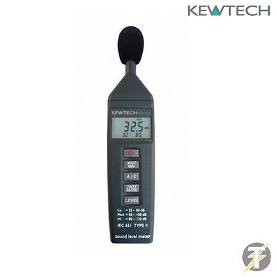 Kewtech KEW325 Sound Level 32dB-130dB Meter Tester