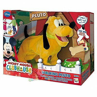 Kids Mickey Mouse Clubhouse Walking Toy Pluto Ages 18 months+ NEW