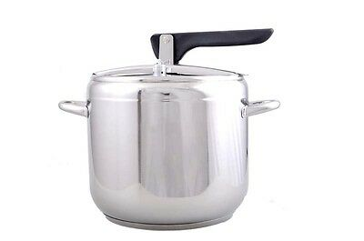 Kitchen Pressure Cooker 7L Cooking Catering Stainless Steel Induction