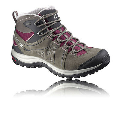 Salomon Ellipse 2 Mid Ltr Mujer Impermeable Gore Tex Caminar Deporte Zapatos