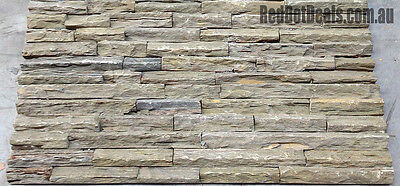 7m2 NATURAL STACKED-STONE TILES S201. Stackstone,wall cladding, feature.CHEAPEST