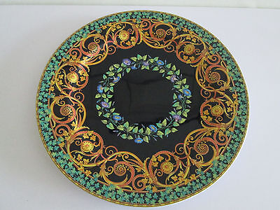 """*wow Rosenthal Studio Line Versace Gold Ivy 12"""" China Plate Charger Wall Hanging"""