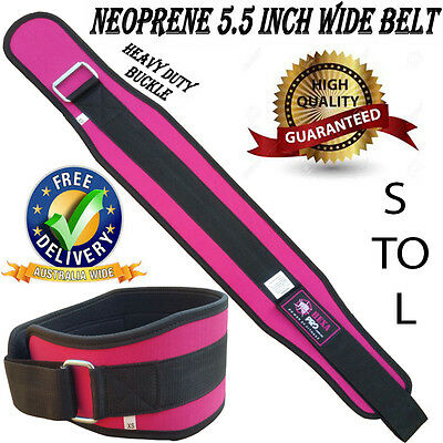 Hexa Pro Ladies Womens Weight Lifting Power Bodybuilding Back Support Gym Belt