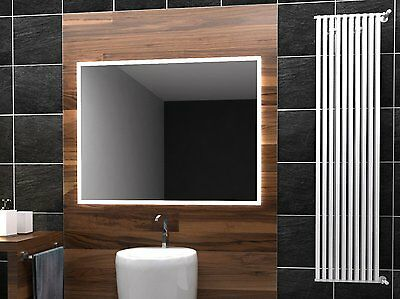 LED Illuminated Bathroom Mirror Boston 80x60 cm | Modern | Wall mounted