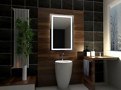 LED Illuminated Bathroom Mirror Atlanta 100x80 cm | Modern | Wall mounted