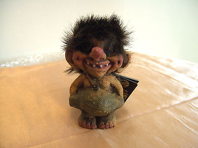 Lovely Norweigian Nyform Troll Figure #018 With Tags