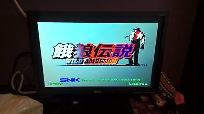 Hyper Neo Geo 64 Console NOS + Fatal Fury Wild Ambition - Arcade Not AES or MVS