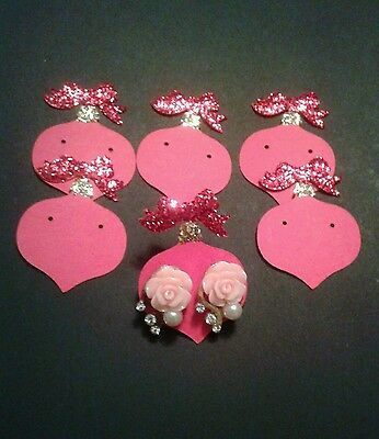 christmas Holiday earring card holder, Gift cards/holders/displays