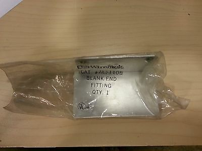 New Wiremold Wire Mold Al3110B Blank End Fitting Aluminum