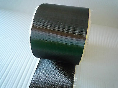 """Carbon Fiber Unidirectional Cloth Tape 200gsm  3K Tow  6"""" Width 5 yds"""
