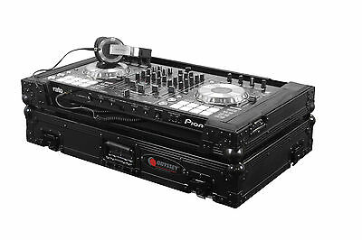 Odyssey Black Label™ Flight Zone® Case for Pioneer DDJ-SX2 & DDJ-RX - FZPIDDJSXB