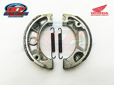 Brand New Genuine Honda Crf 70 80 100 Crf Oem Front / Rear Brake Shoes