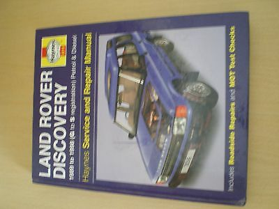 Haynes Land Rover Discovery Manual, 1989 - 1998, Petrol And Diesel Now Reduced