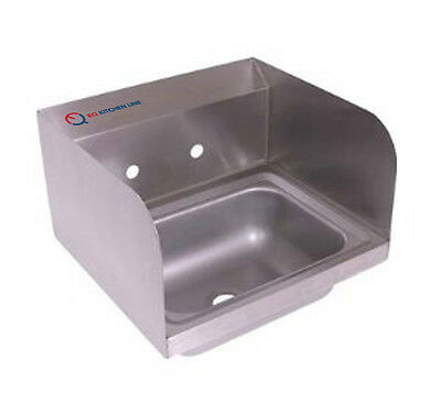 "EQ Compartment Sink Kitchen Commercial Stainless Steel Silver 12""X16""X13"""