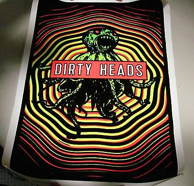 Dirty Heads Blacklight Poster