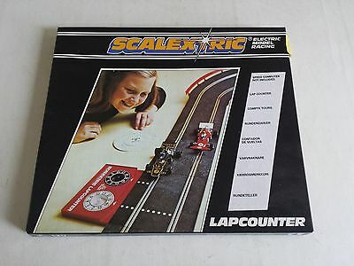 Scalextric Lapcounter C277 Mechanical New Unused Boxed