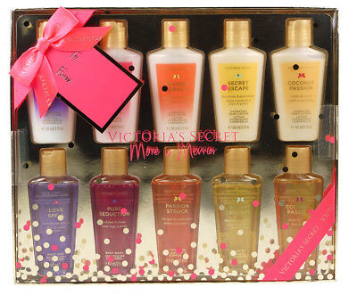 Victoria's Secret Fragrant Body Wash & Body Lotion Christmas Gift Set For Her