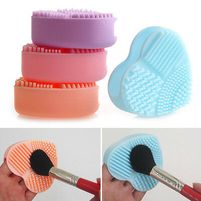 Hot Silicone Fashion Cleaning Glove Makeup Washing Brush Scrubber Tool Cleaners