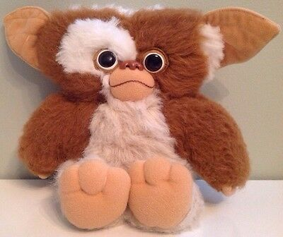 "Gremlins GIZMO Plush 11"" Vintage Applause Toy 1984 Collectible"