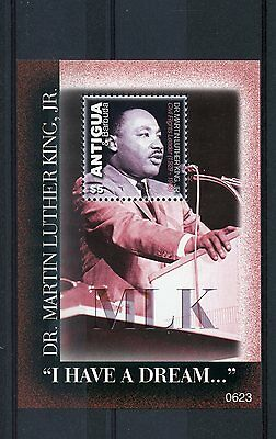 Antigua & Barbuda 2006 MNH Dr Martin Luther King Jr 1v S/S I Have a Dream Stamps