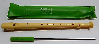 Vtg Recorder Hohner Melody Blockflote B9508 Sopran 1 Germany With Case Great