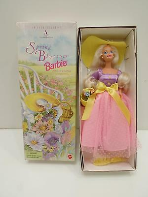 Avon Special Edition Spring Blossom Barbie 1st In A Series Mattel 15201 New 1995