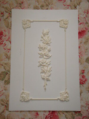 New! Custom Architectural Panel Appliques Victorian Cottage French