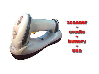 Motorola Symbol LS4278 Wireless Bluetooth Barcode Scanner + Cradle & USB Cable