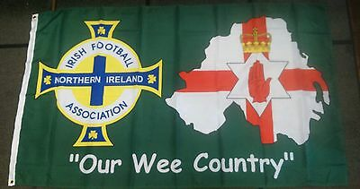 Ulster / Northern Ireland Football / 5X3 Foot Flag / Excellent Quality/ Loyalist