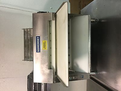 Somerset  Double Pass Dough Sheeter Roller