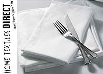 """100% Cotton Napkin 180 Thread Count Dining Tablecloth 16X16"""" Pack of 10 Kitchen"""