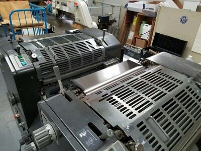 Ab Dick 9995A Two Color Offset Press