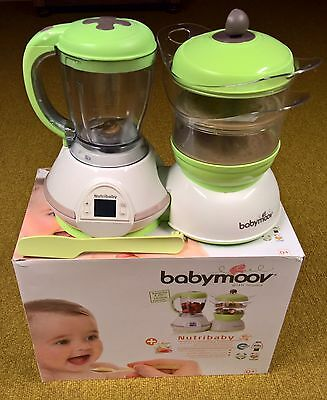 Babymoov Nutribaby Multifunktions Küchenmaschine 5 in 1
