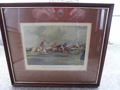 Antique,print 'The High Mettled Racer', c1821 H Alken T Sutherland