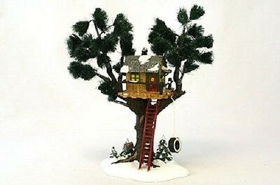 Department 56 Treetop Tree House Snow Village #54890**free Shipping!!
