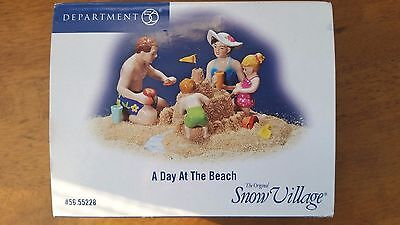 4 Dept 56 Snow Village Collectibles - New in Box