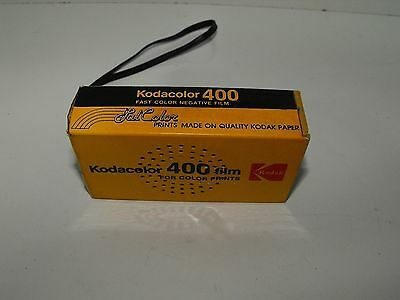 Vintage Novelty Kodacolor 400 Film Transistor Radio In Good Working Order.