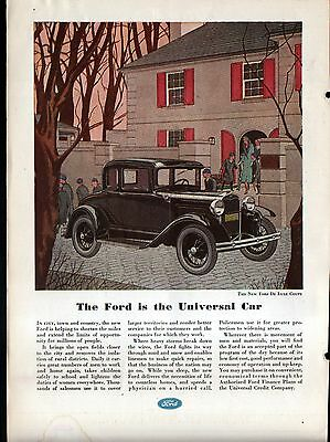 1931 FORD DeLUXE COUPE AD-